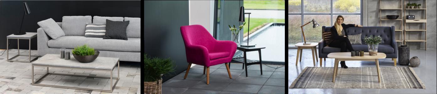 Opdateret Møbler til din Stue. Alt fra sofaer, sofaborde, reoler, kommoder JL19