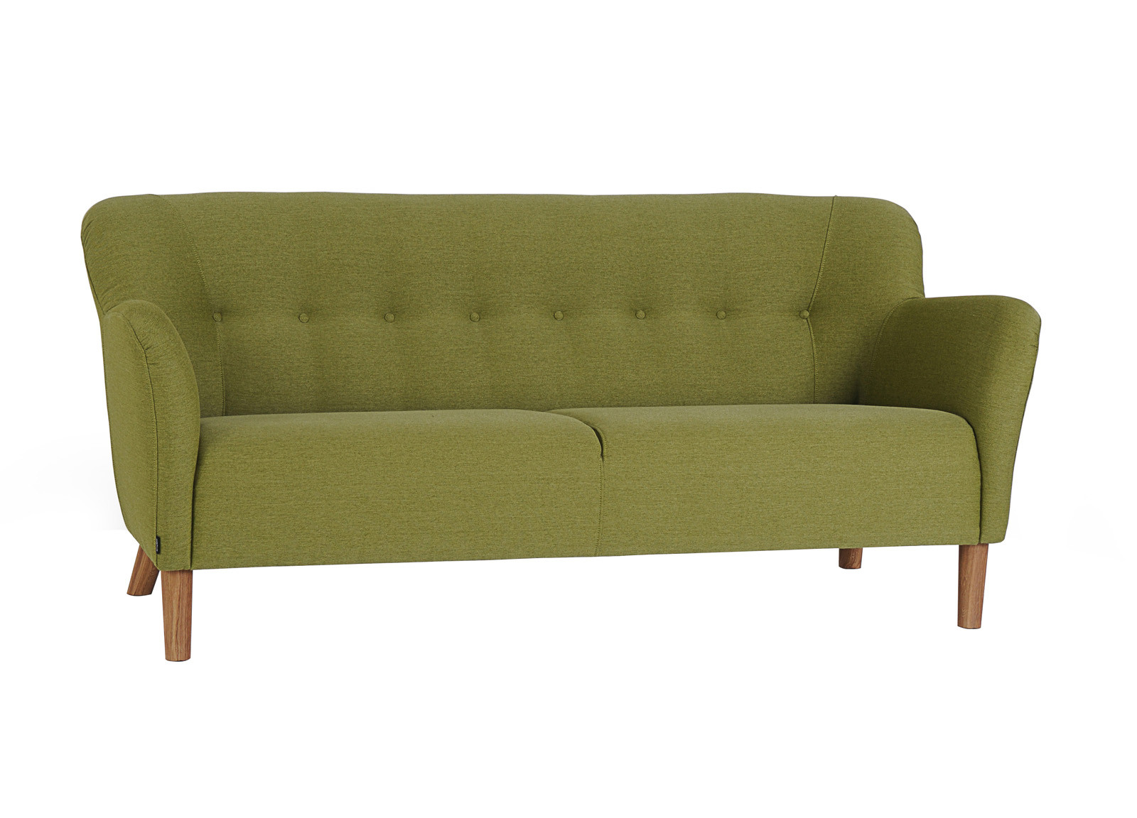 carolina sofaen er fin 3 personers sofa i retro stil med runde former. Black Bedroom Furniture Sets. Home Design Ideas