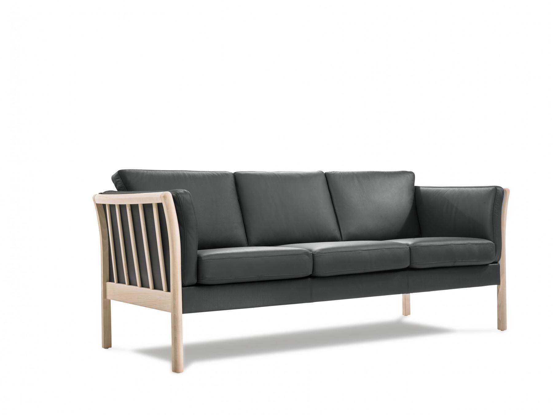 sort læder farve til sofa