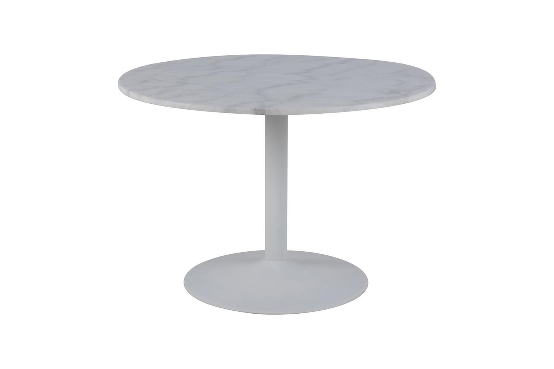 Picture of: Rundt Spisebord Med Marmor Bordplade