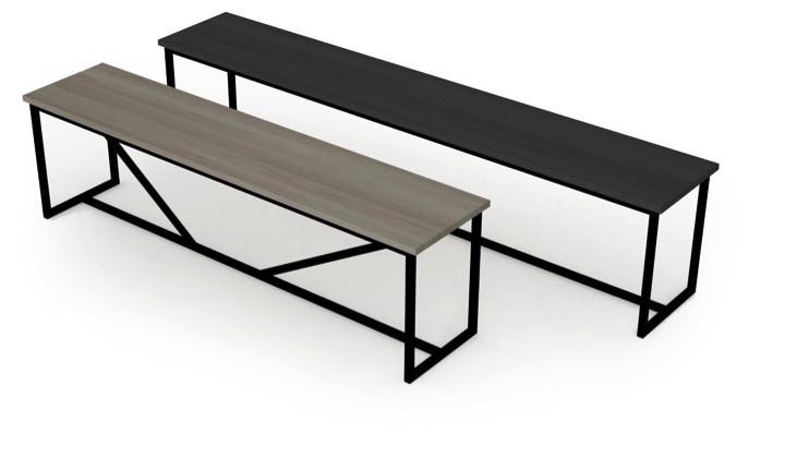 Zet Langbord fra Kristensen & Kristensen er et elegant spisebord i ...
