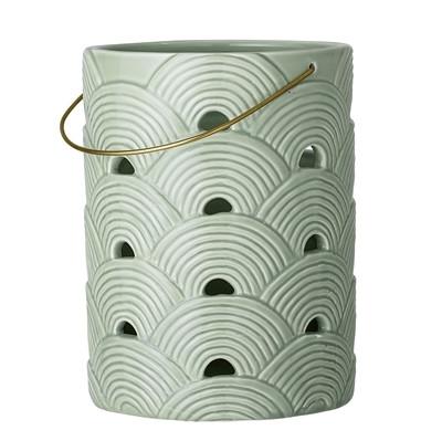 Bloomingville Lanterne Grøn Keramik