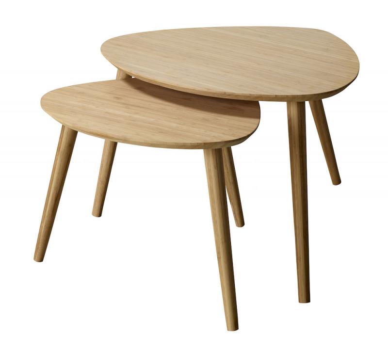 Noble Indskudsbordssæt Bambus