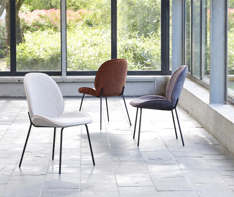 Hariett Spisebordsstole - 3 Farver