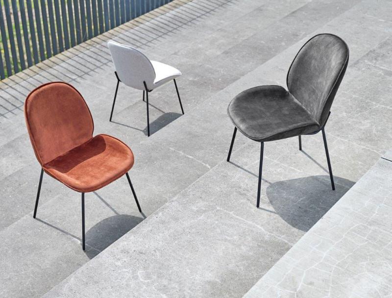 Hariett Spisebordsstol Sand - 3 varianter