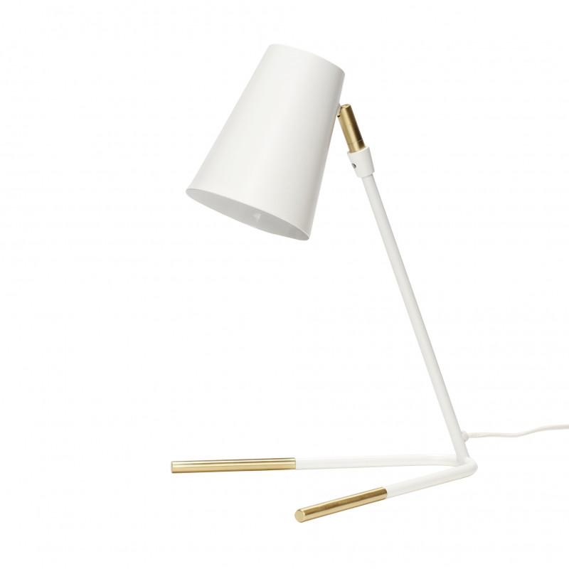 Hubsch Bordlampe i Metal Sort og Messing