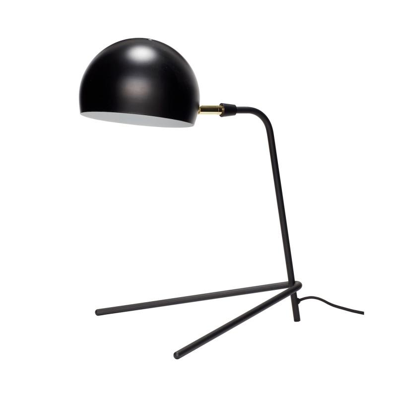 Hubsch Bordlampe i Sort Metal med 3 ben