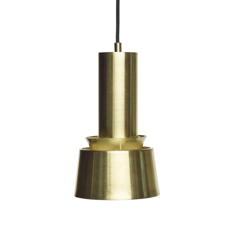 Hubsch Lille Loftslampe i Rent Messing ø15