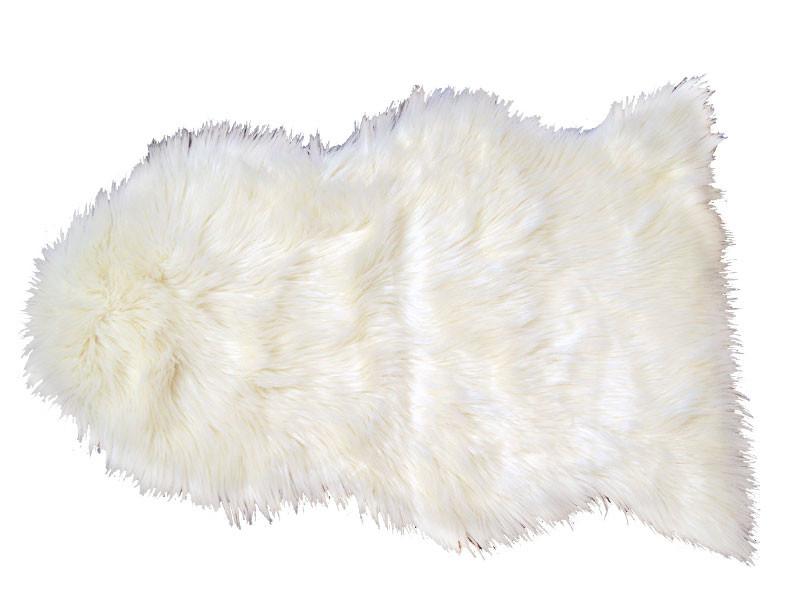 Lammeskind Hvid 90x60