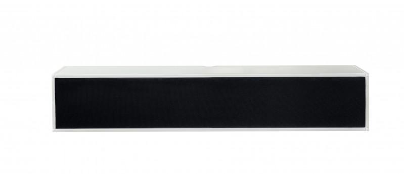 Square TV Møbel Hvid med stoffront