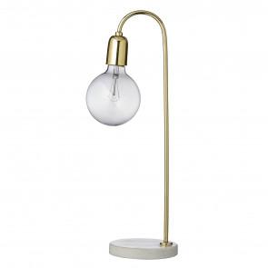 Bloomingville Bord Lampe Marmor/Messing