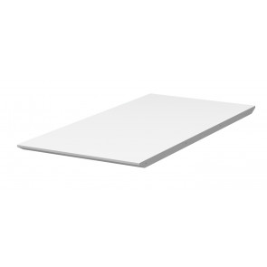 Bess Tillægsplade til Spisebord Hvid