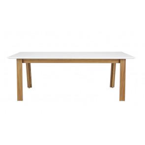 Profil Spisebord Hvid/Eg 210-270