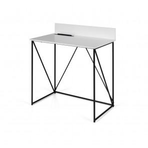 Tell Skrivebord i Hvid og sort.