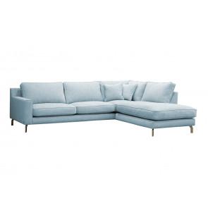 Arezzo Sofa ARM 3+3-MODULE (2) +DIVAN MODULE R vist med metal ben