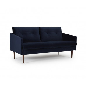 Assens 2,5 pers Sofa. Velour Dark Blue