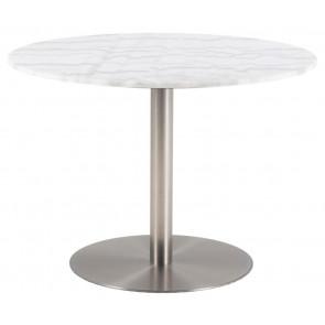 Campo Spisebord-Ø105-Marmor-Krom