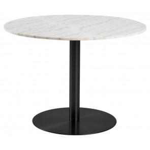 Campo Spisebord-Ø105-Marmor-Sort