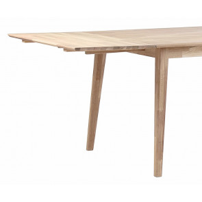 Feodora Tillægsplade til Spisebord i 140/180 Hvidpigm. Eg