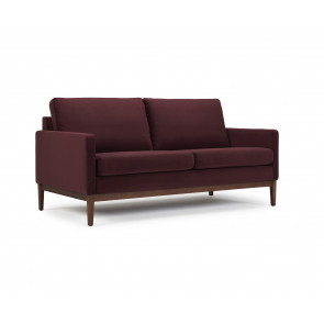 Finn 2,5 Pers. Sofa Velour 606 Bordeaux