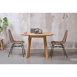 Flex Rundt Spisebord i Eg Ø110