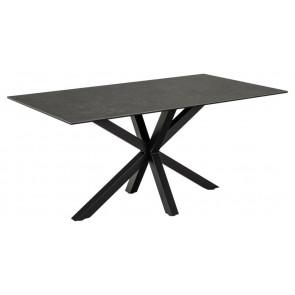 Hardanger Spisebord - Sort Keramik - 160