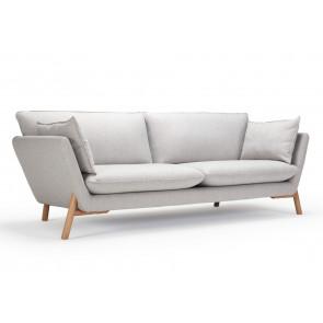 Hasle 3 Pers. Sofa. Ramo 163 Grey