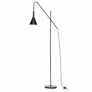 Hübsch Gulvlampe Sort Metal