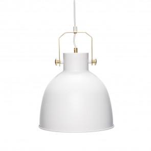 Loftslampe Metal Hvid og Guld