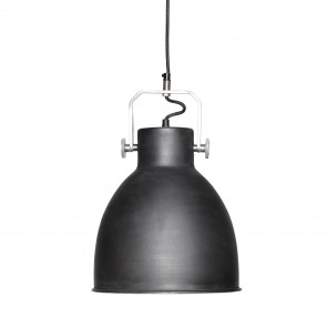 Hubsch Loftslampe Metal Sort