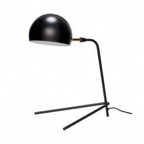 Hubsch Bordlampe i Sort Metal med 3 ben
