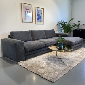 Seattle Sofa med chaiselong H/V Antracit