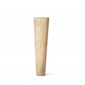 Lama Koniske runde ben. Olieret eg 19 cm.