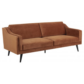 Madrid 3 pers. Sofa Kobber Velour