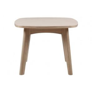 Malou Hjørnebord Hvidpigmenteret Eg