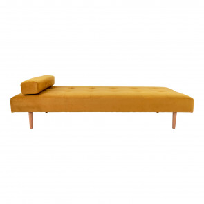 Mandy Daybed Sennepsgul Velour - Front