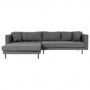 Milano Chaiselong Sofa H/V Grå