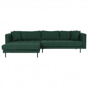 Milano Chaiselong Sofa H/V Grøn
