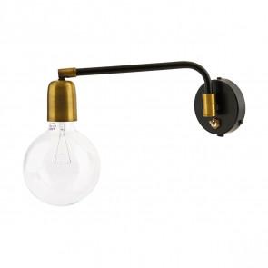 Molecular Væglampe Sort/Messing - House Doctor