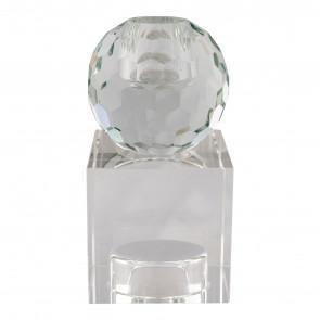 Taomina Lysestage Vendbar-Klart glas