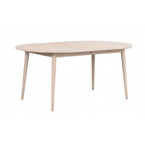 Toke Ovalt Spisebord 170 Hvidpigm. Eg