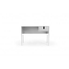 UNO Skrivebord Hvid. Front