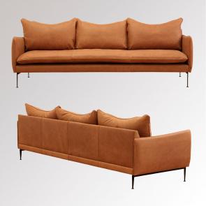 Vision Sofa 3,5 pers. i Vintage læder