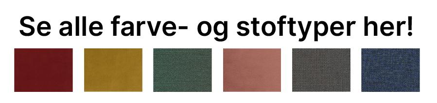 34 farver- og stoftyper