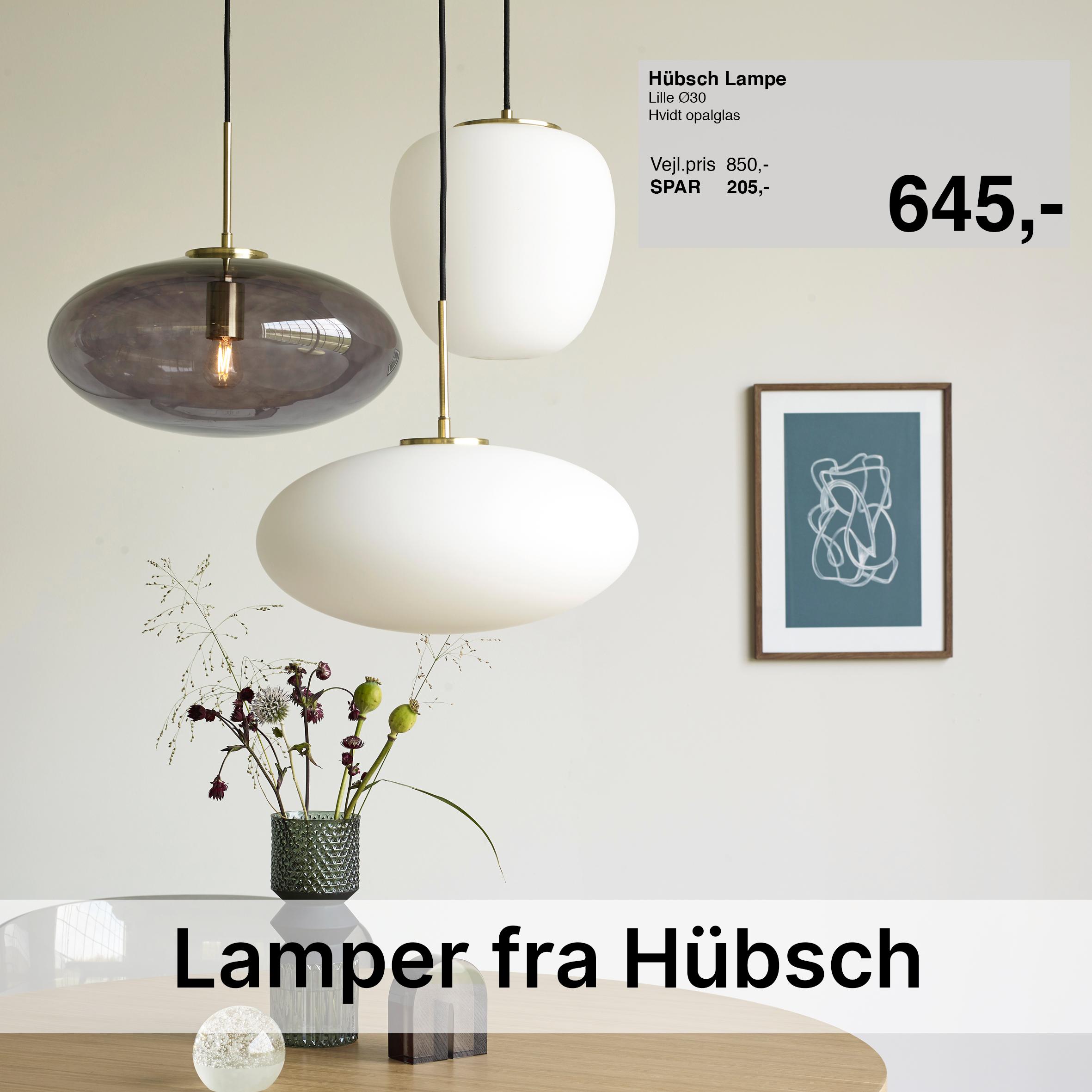 Hübsch Lamper